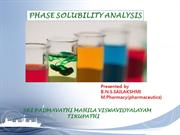 phase solubility analysisssss