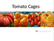 Get Fruitful Garden Using Tomato Cages