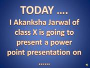 education ppt made by akanksha