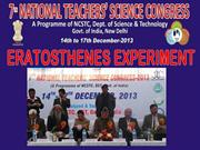 National Teachers' Science Congress in  Faridabad