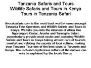 Wildlife Safaris and Tours in Kenya