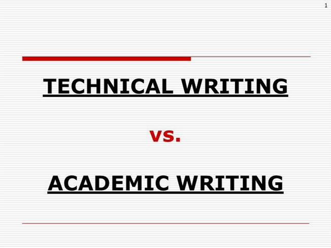 Technical writing services vs journalistic writing
