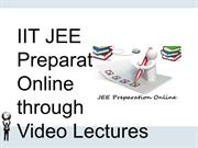 JEE Video lectures course