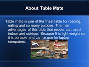 Use table mate