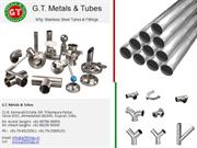 SS and TC Fittings Supplier Ahmedabad - GT Metals and Tubes