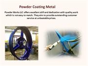 Powder Coating Metal