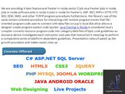 Java Training in Delhi, Java Institute Sector 2 Noida, Android Trainin
