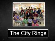 6è, Taller THE CITY RINGS - 1ªSessió