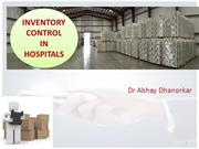 INVENTORY CONTROL IN HOSPITALS