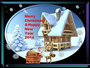 Merry Christmas & Happy New Year 2014