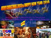 Merry Christmas 2013 & Happy New Year 2014 - John Lennon - Ngoc Bui