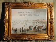 Merry Christmas & Happy New Year  (Medieval Winter Paintings)