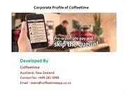 Corporate Profile of Coffee time