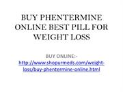 Weight Loss Pill Buy Phentermine Online