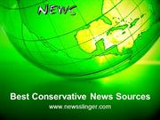 Best Conservative News Sources