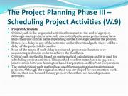 Project Activity in project management