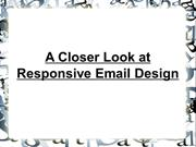 A Closer Look at Responsive Email Design