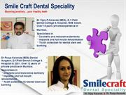 Best Dentist in Mumbai - Smile Craft Dental Speciality