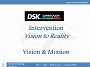 DSKIC Design School - Vision & Mission
