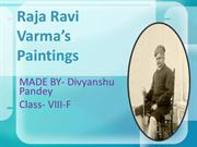 Raja Ravi Varma's paintings
