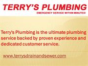 Drain Line Cleaning Fort Lauderdale | Terry's Drain & Sewer