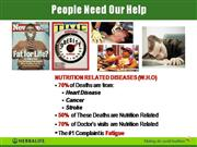Our Mission Is Nutrition!