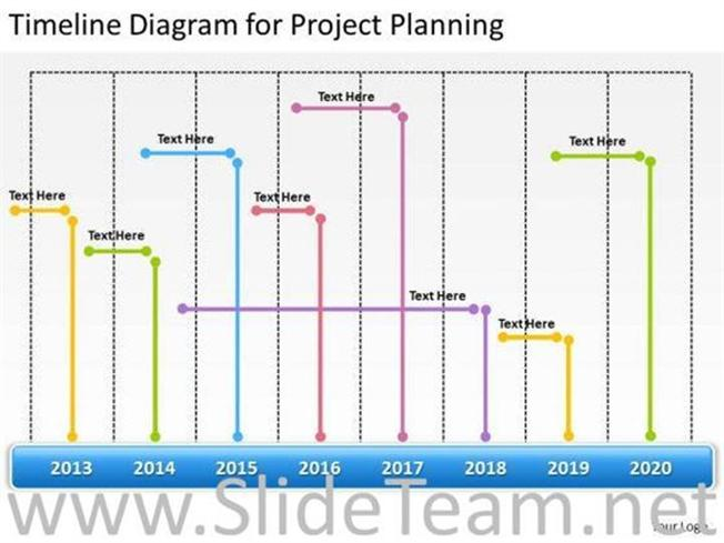 timeline diagram for project planning ppt slides powerpoint diagram