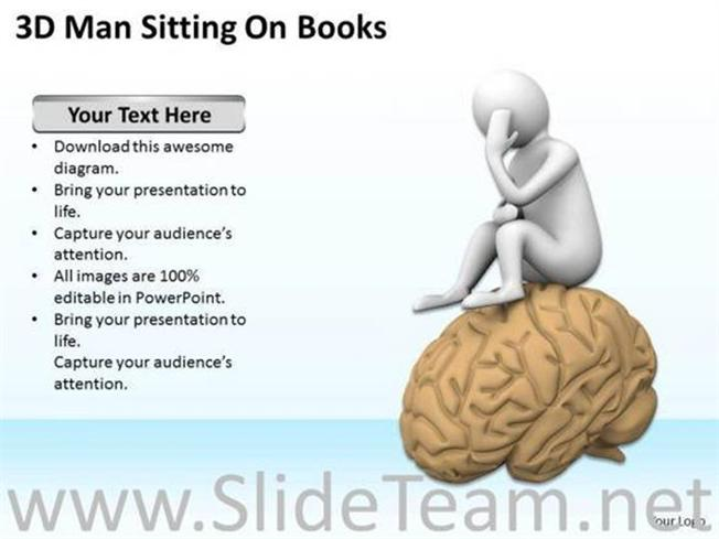 Creative Brain Powerpoint TemplatesPowerpoint Template