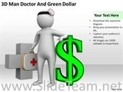 DOCTOR AND GREEN DOLLAR POWERPOINT TEMPLATES