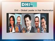 DHI India - Hair Restoration Treatment