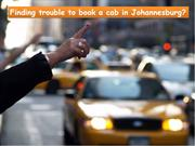 Get Best Taxi Cabs Services in Johannesburg