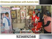 Rotary club greater ludhiana- christmas celebration autistic kids