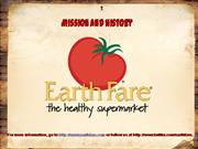 Earth Fare's Mission