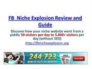 FB  Niche Explosion Review and Guide