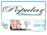 Popular Diamonds Buy Conflict Certified Diamonds  at affordable prices