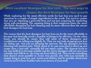 Most excellent Shampoo for Hair Loss - The best ways to choose the Bes