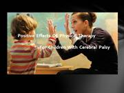 Positive Effects of Physical Therapy for Children with Cerebral Palsy