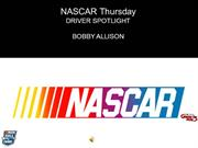 Nascar Thursdays Driver Spotlight Bobby Allison