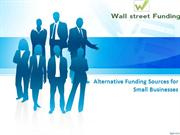 Viable Options for a Funding Source for Small Business Ventures