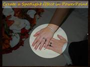 Create a spotlight effect in powerpoint