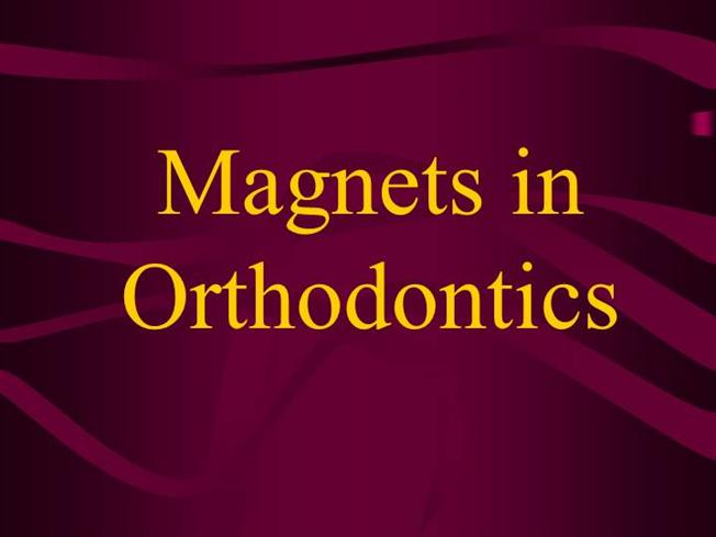 Magnets in Ortho Dontics |authorSTREAM