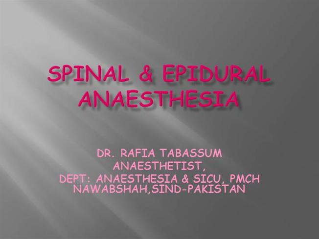 What is the difference between a spinal tap and an epidural?
