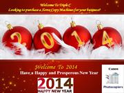 TripleCPhotocopiers - Happy and Prosperous Happy New year 2014