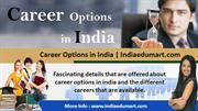 Career Options in India