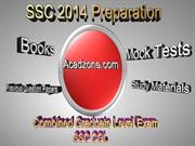 SSC CGL Exam 2014 - Books & Tips to Follow