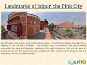 Landmarks of Jaipur, the Pink City