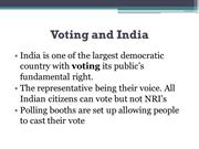 Voter ID Card India