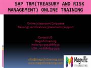 sap trm online training