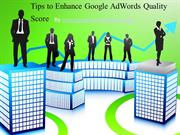 Tips to Enhance Google AdWords Quality Score