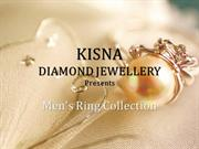 KISNA Diamond Jewellery | Men's Ring